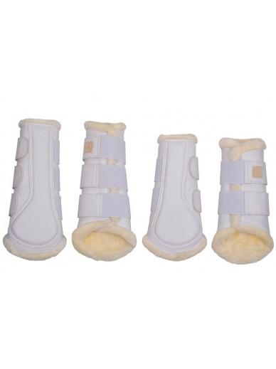 Montar- set guêtres blanc