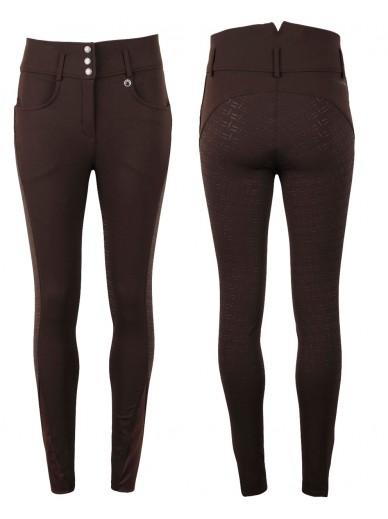 Montar- culotte extra taille haute Gita - marron