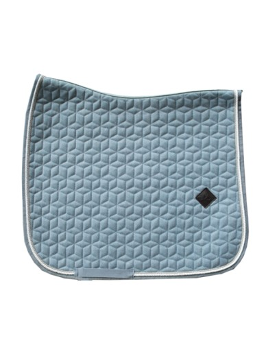 Kentucky - Tapis wool bleu clair