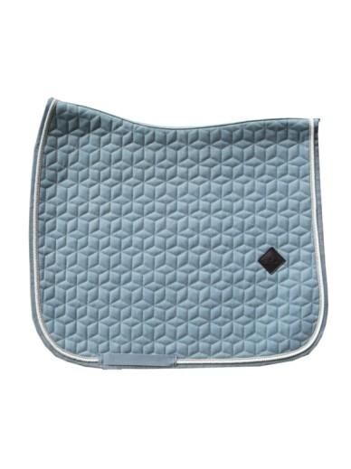 Kentucky - Tapis wool bleu clair
