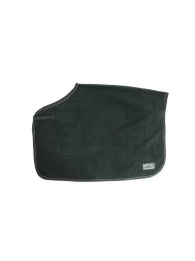 Kentucky - couvre reins polaire luxe - vert sapin