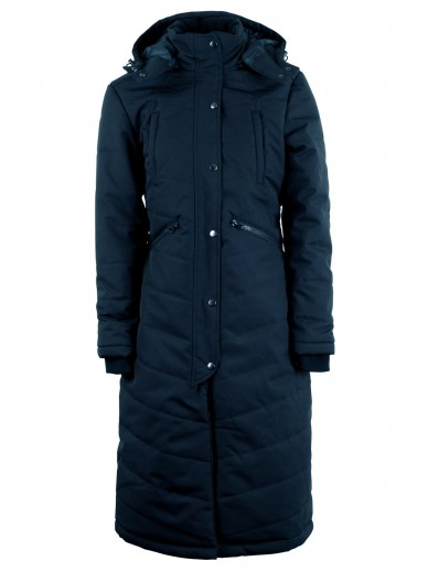 Montar- manteau long dicte noir