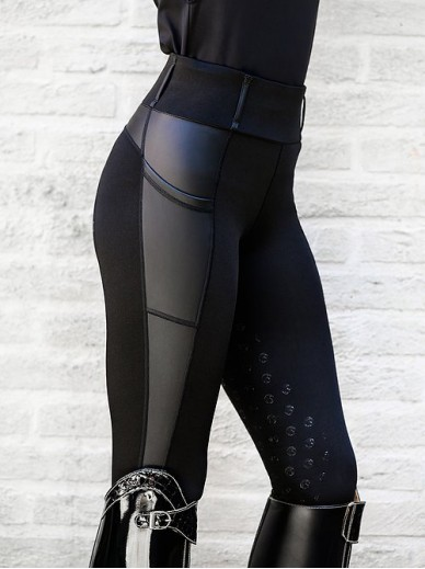 Ps of Sweden - Leggings Cindy, noir