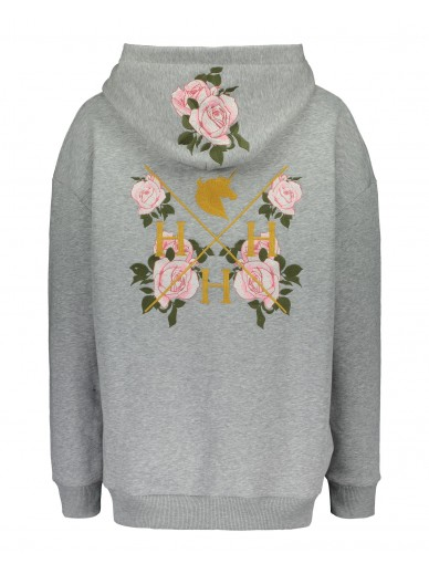 House of Horses - La vie en rose Hoodie - gris