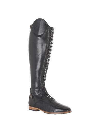 imperial riding - Bottes à lacets mollet normal - Black/silver
