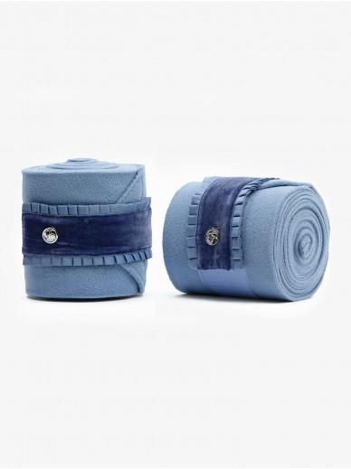 Ps of Sweden - bandes ruffle light blue