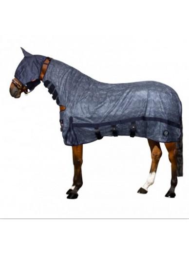 imperial riding - Couverture anti mouche snake avec cou et masque