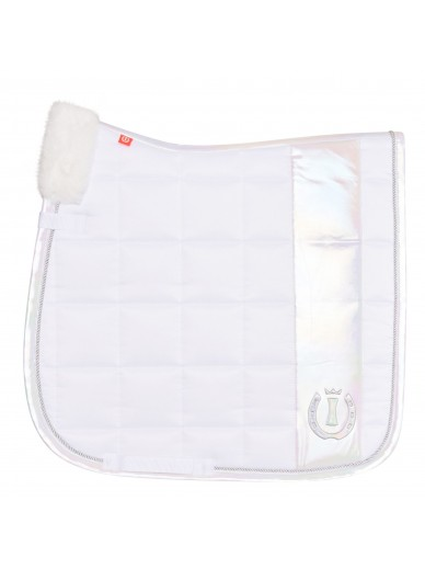 imperial riding - Tapis dressage white pearl
