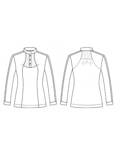 FairPlay - Polo manches longues Lorella - blanc