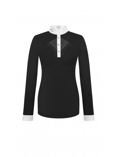 FairPlay - Polo manches longues Cathrine - noir