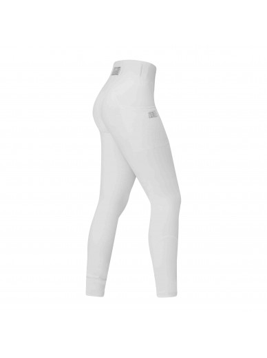 equito - leggings white silver