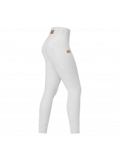 equito - leggings white rose gold