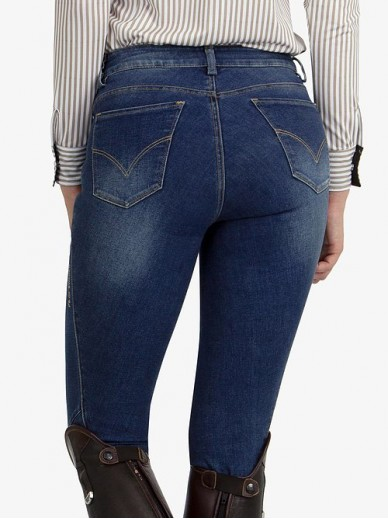 Ps of Sweden - Pantalon Ellie denim