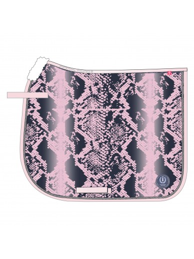imperial riding - Tapis dressage Snake - pink