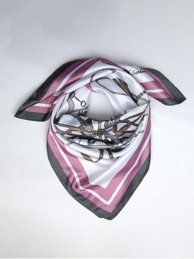 Ps of Sweden - foulard Adine - rose berry