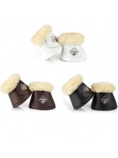 LeMieux - Cloches en cuir et mouton véritable